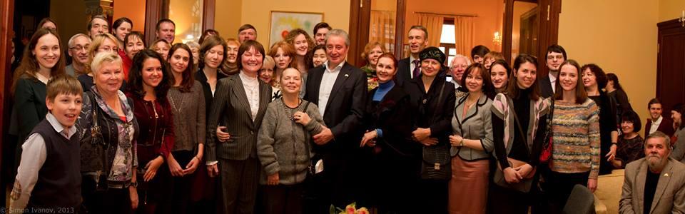 14 декабря в Посольстве Исландии в РФ состоялось чтение повести Гуннара Гуннарссона «Адвент»