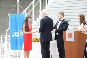 Вручение премии Ал.Чернышовой