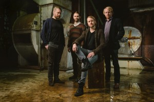 Portraits of the Icelandic band Árstí?ir taken on-location at Toppstö?in power station...</div>