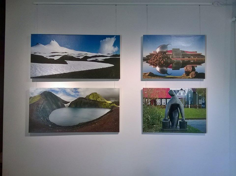 «Изогнутое пространство» Исландии. Фотовыставка Владимира Сошникова.