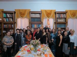В Доме Гоголя после концертного исполнения исландской оперы