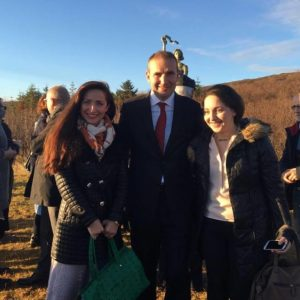 С Президентом Исландии