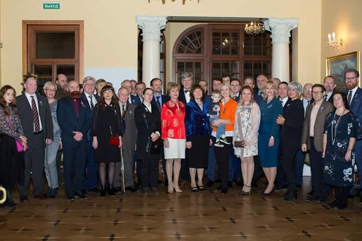 4.12.2018-Посольство Исландии в России отметило 100-летие суверенитета страны и 75-летие установления дипломатических отношений  между Россией и Исландией